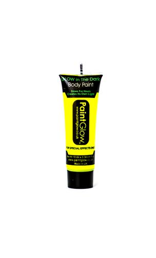 Maquillage phospho jaune