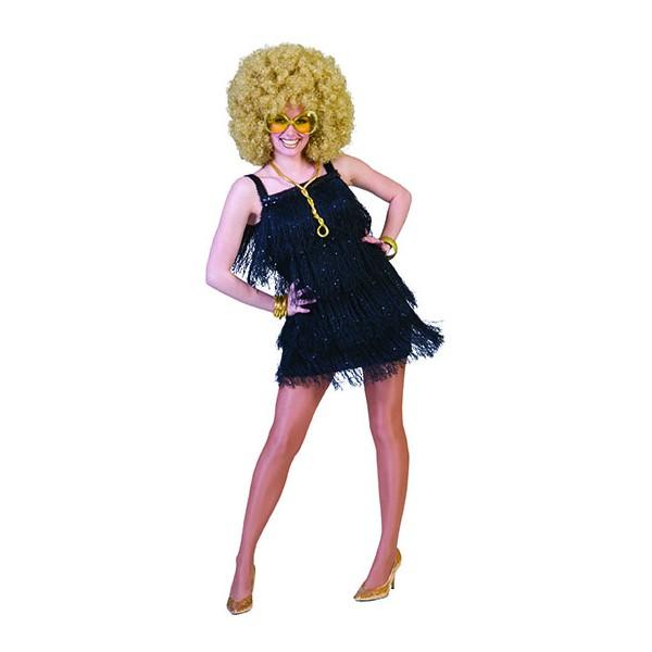 Robe Danseuse disco noir 1