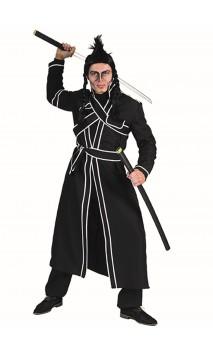 Costume Ninja noir luxe