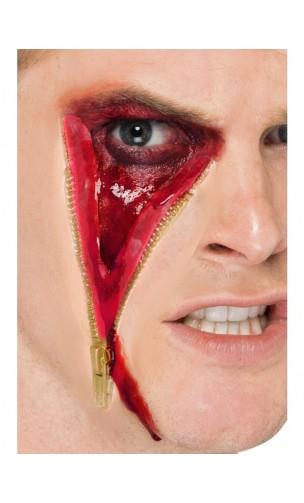 Cicatrice fermeture eclair latex