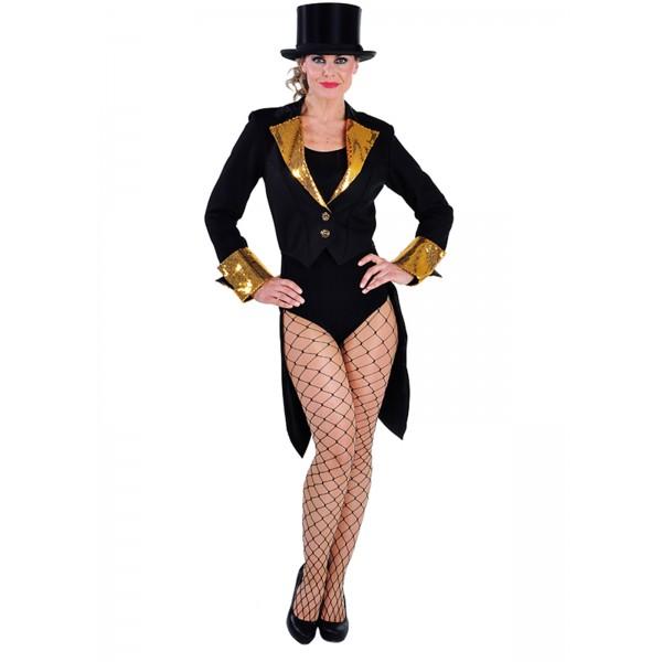 Location déguisement veste queue de pie noir et doré à Paris 309b72b8c13