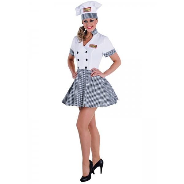 Déguisement chef cuisinière