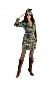 Déguisement militaire femme 2