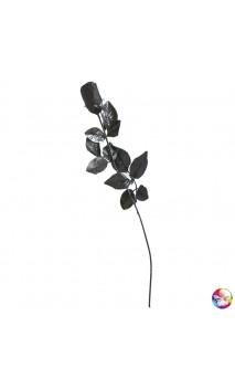 Rose noire maléfique 40cm