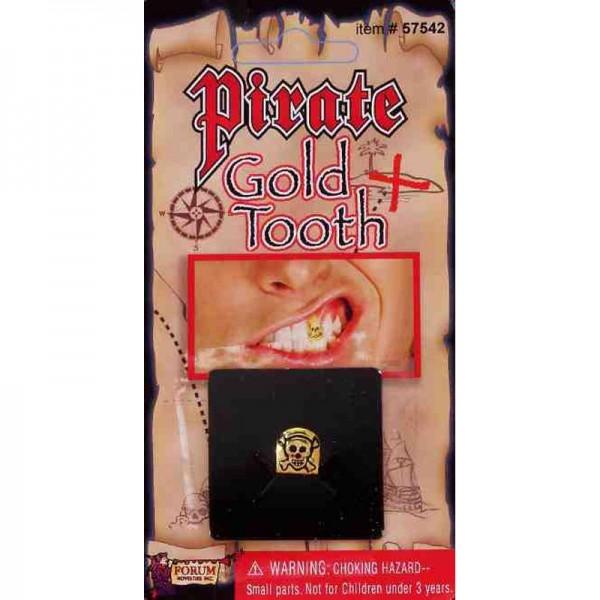 Dent de pirate dorée