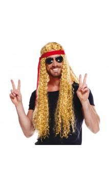 Perruque hippie homme 2