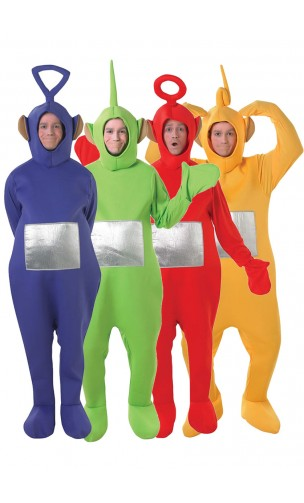 deguisement teletubbies