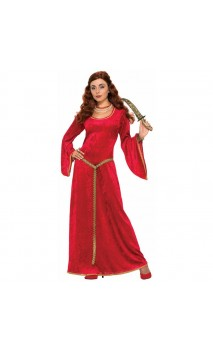Robe enchanteresse médiévale