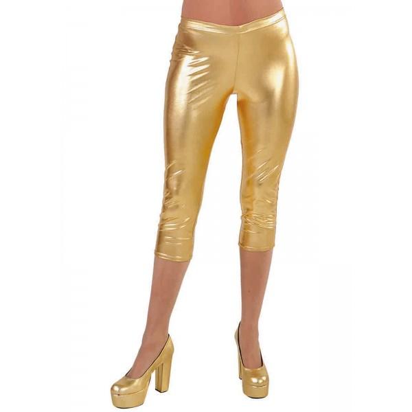 Legging disco dorée en location à Paris pour déguisement année 80 2cf0e77513f