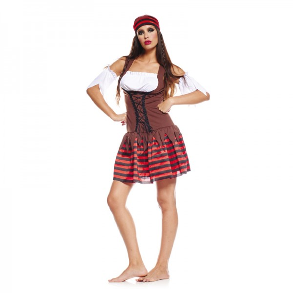 Déguisement pirate 7 mers femme