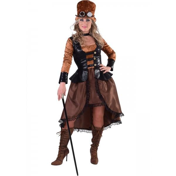 Déguisement 1900 steampunk femme 2
