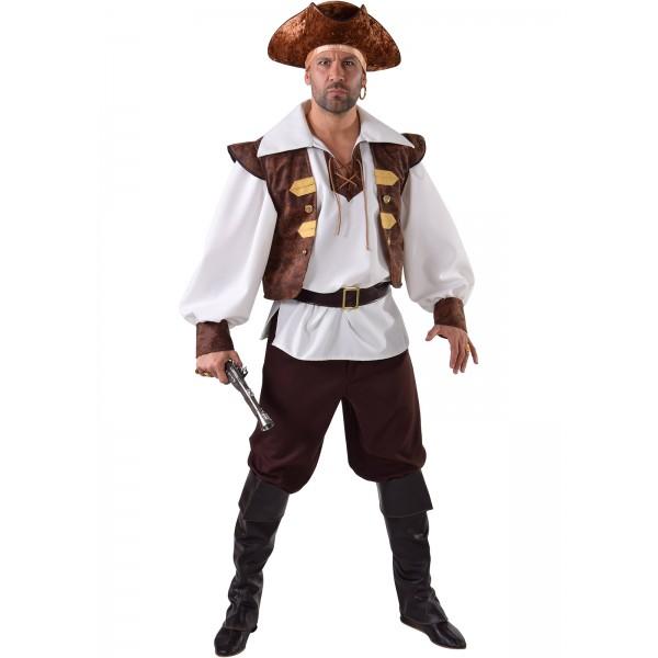 d guisement de pirate homme luxe complet en location paris be happy. Black Bedroom Furniture Sets. Home Design Ideas