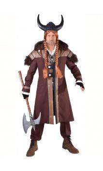 Déguisement veste viking avec fourrure