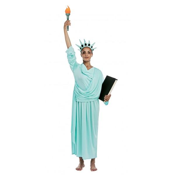 Déguisement statue de la liberté