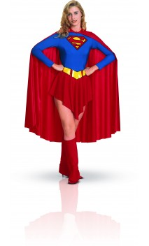 Déguisement Supergirl Maillot