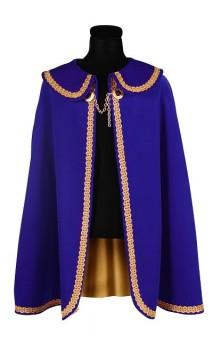 Cape prince et roi bleue luxe 2