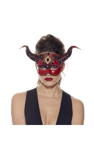 Loup diable rouge luxe