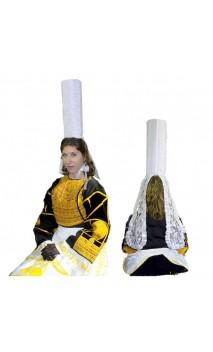 Chapeau bigoudène bretonne luxe