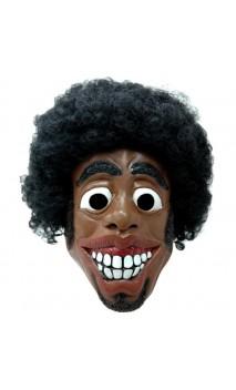 Masque afro disco latex