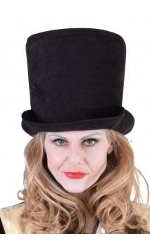 Chapeau HDF en velours noir