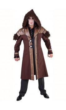 Veste viking barbare avec fourrure