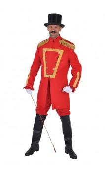 Veste monsieur Loyal luxe rouge