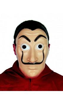 Masque Casa de papel - Dali plastique