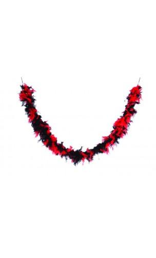 Boa noir et rouge 50g