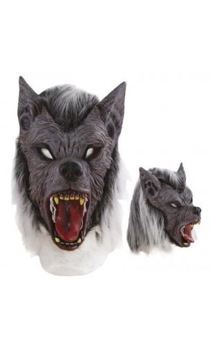 Masque loup garou intégral en latex