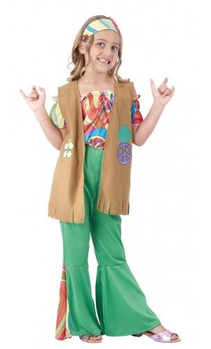 Déguisement hippie année 70 enfant