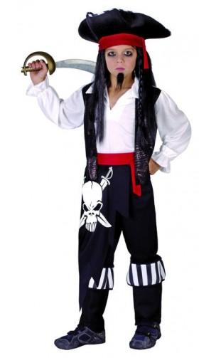 Déguisement pirate jack enfant
