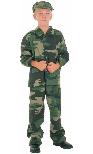 Déguisement soldat militaire enfant