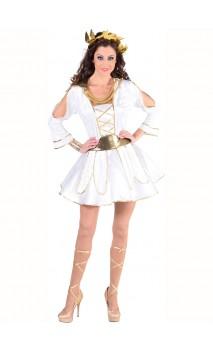 Déguisement déesse grecque Hélena