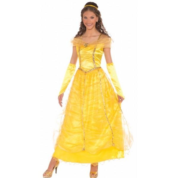 9322bd82cee Location robe princesse Belle de disney chez Be Happy à Paris