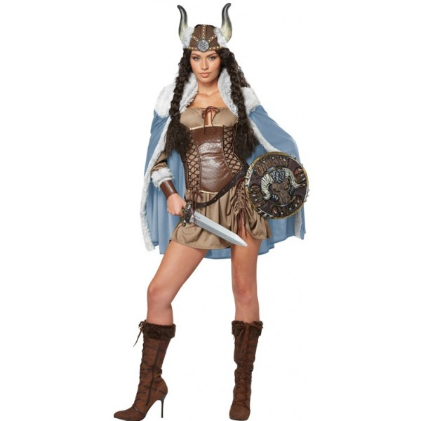 Costume Viking Femme Luxe