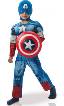 Déguisement captain América luxe enfant
