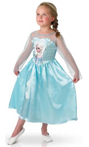 Déguisement Elsa classique enfant
