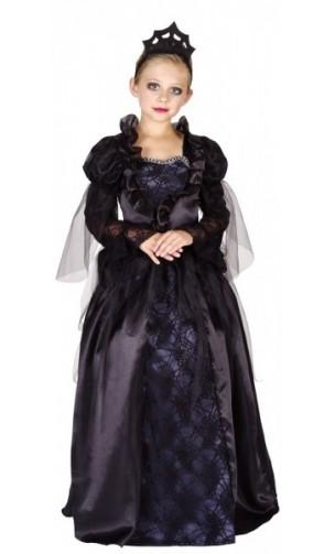 Déguisement reine gothique luxe enfant