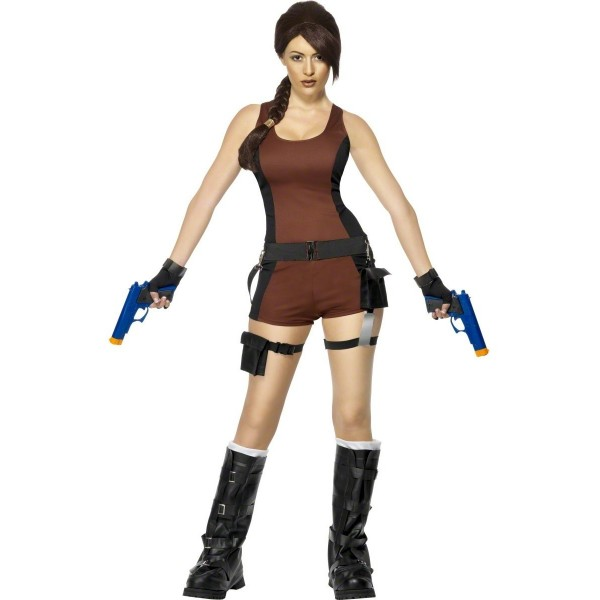 Location déguisement Lara Croft, Tom Rider pour adulte