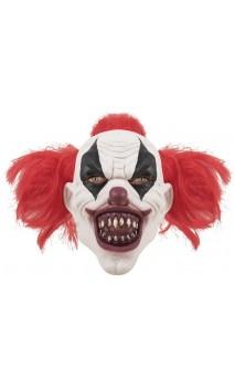 Masque clown assassin avec cheveux