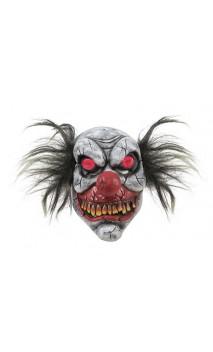 Masque clown fou yeux lumineux