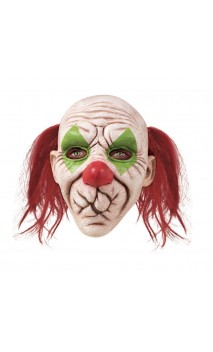 Masque clown bouche cousue
