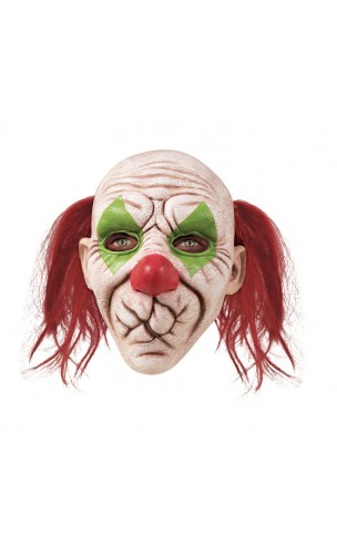 Masque clown bouche cousue