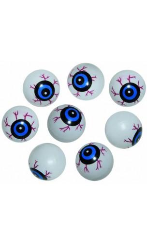 Sachet 8 oeil plastique