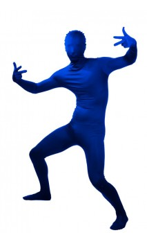 Combinaison seconde peau Bleu