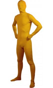 Combinaison seconde peau jaune