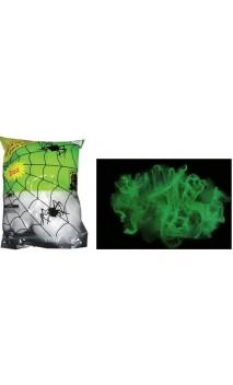 Toile d'araignée phosphorescent