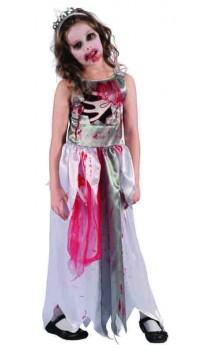 Déguisement princesse zombie enfant