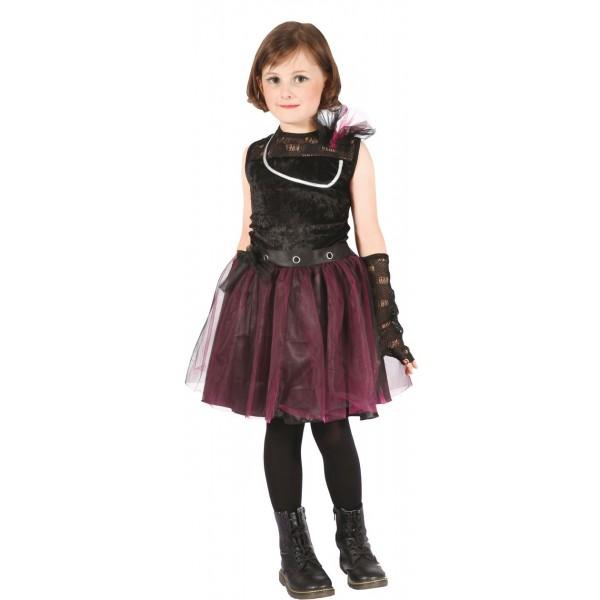 Déguisement punk gothique 2 enfant