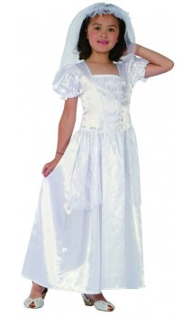 Déguisement robe mariée 3 enfant